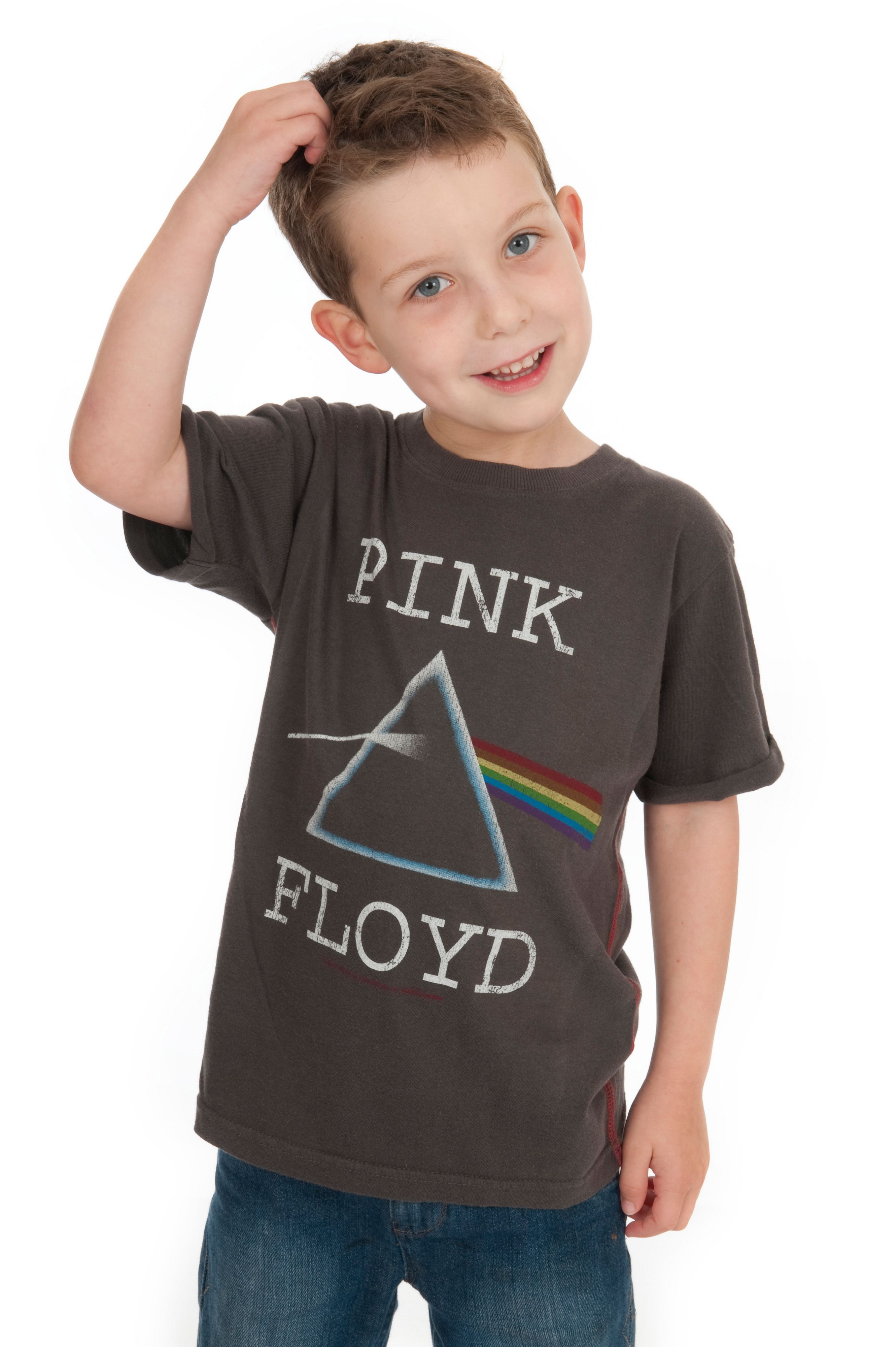 Kids pink floyd dark side vintage wash t-shirt