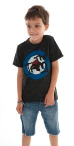 Amplified Kids Kids The Jam Target Speckle T-Shirt