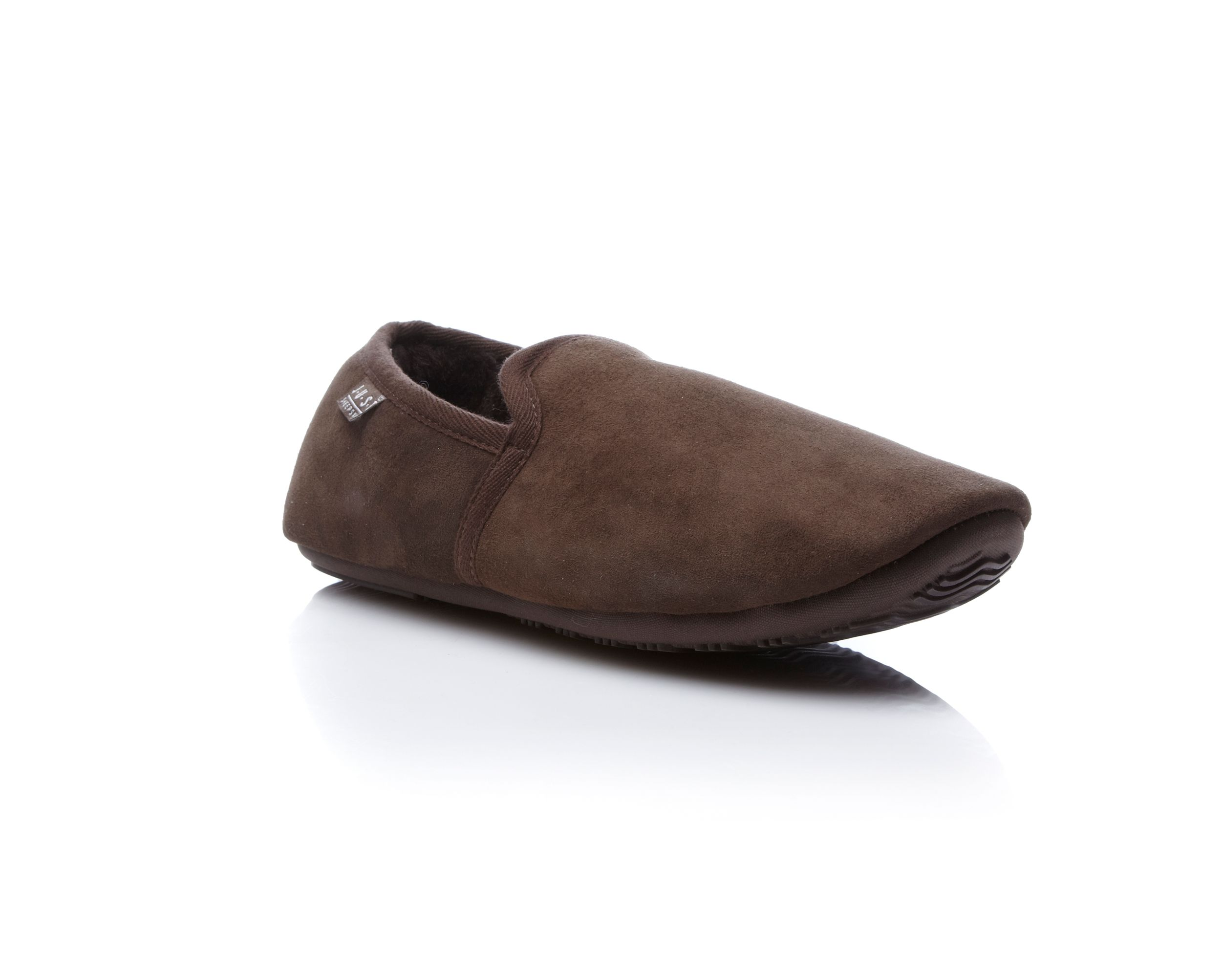Garrick sheepskin full slip on slippers