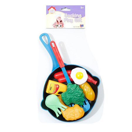 HTI Cosy village cooking play set