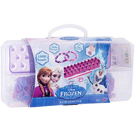 Disney Frozen Loom kit and storage case - 1000 bands