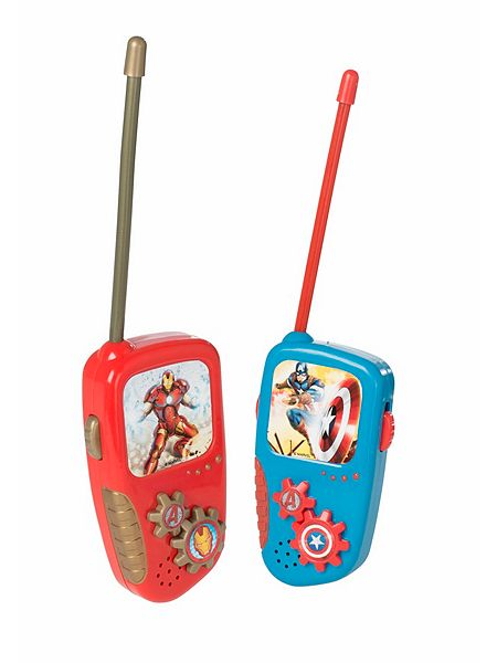 the avengers walkie talkies house of fraser. Black Bedroom Furniture Sets. Home Design Ideas