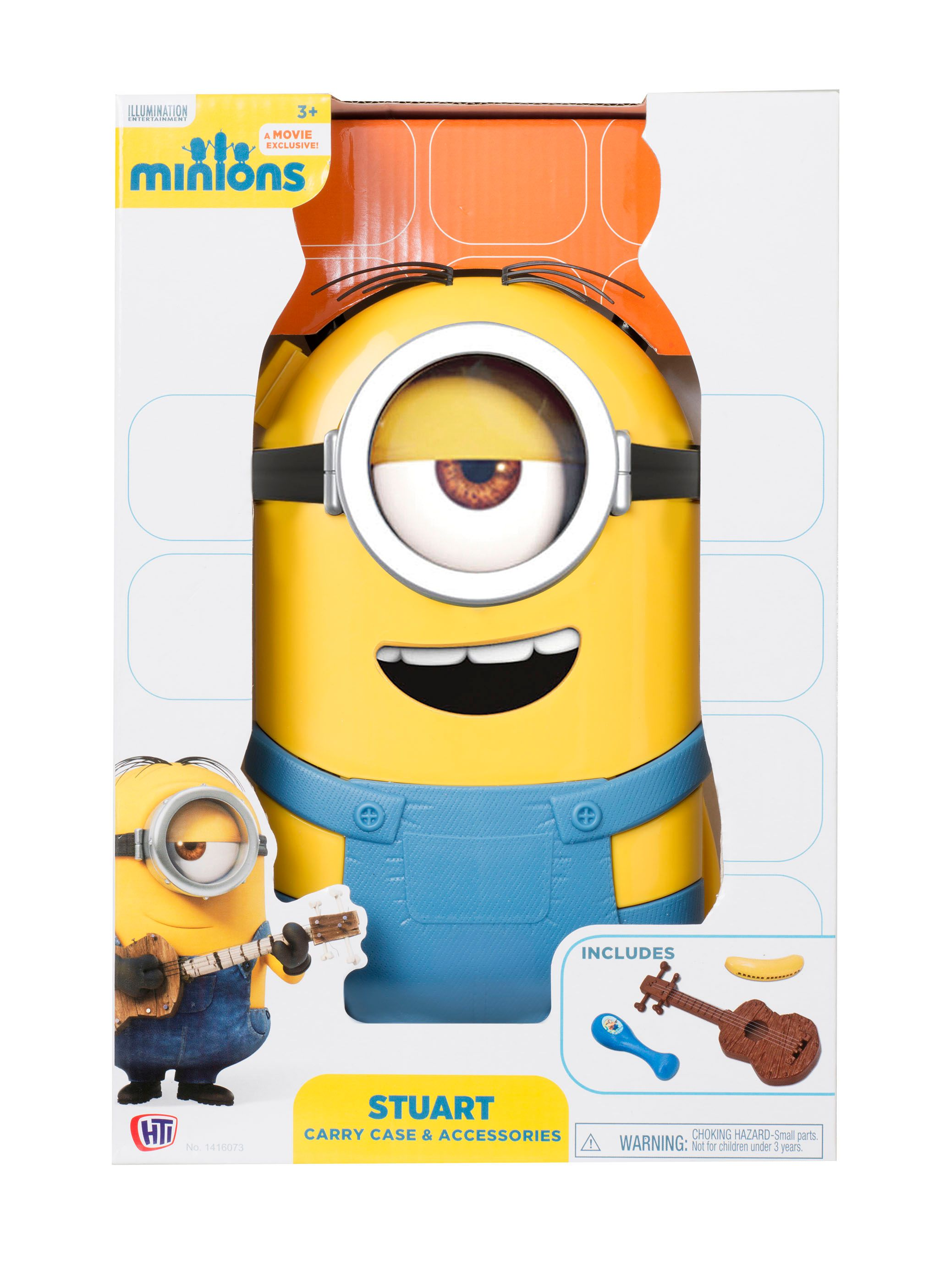 Minions Movie Minions Movie Stuart Music Accessories Play Case