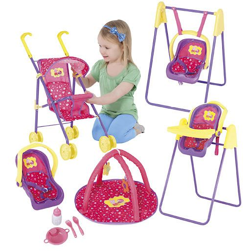Peppa Pig Dolls Travel Set