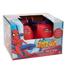 The spectacular spider-man quad skates - junior s