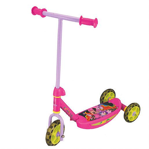 Minnie Mouse 3 wheeled scooter