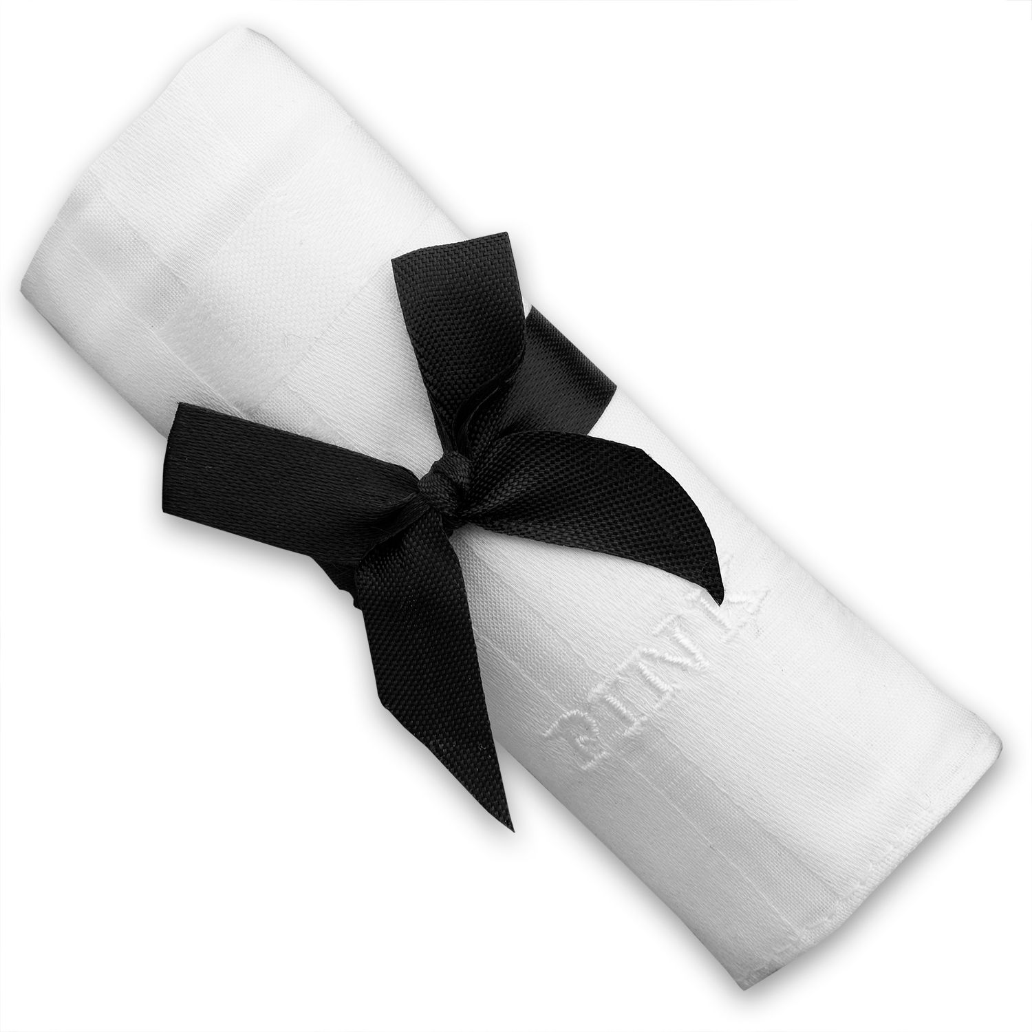 Single white hankie