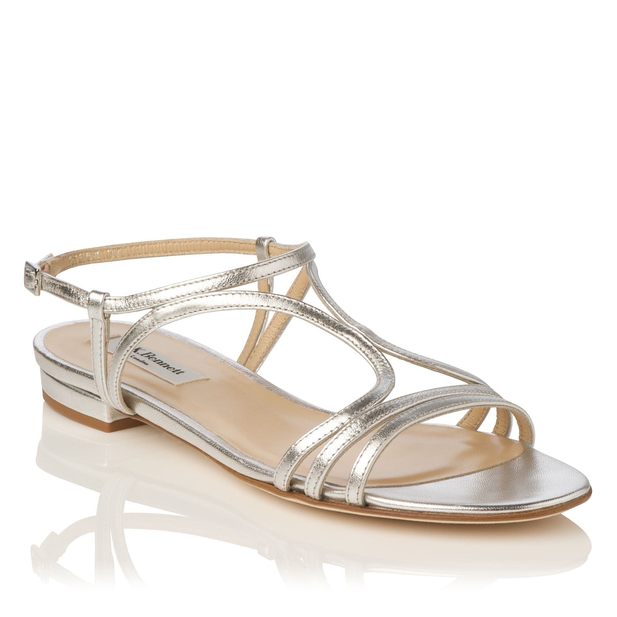Lennie metallic sandals