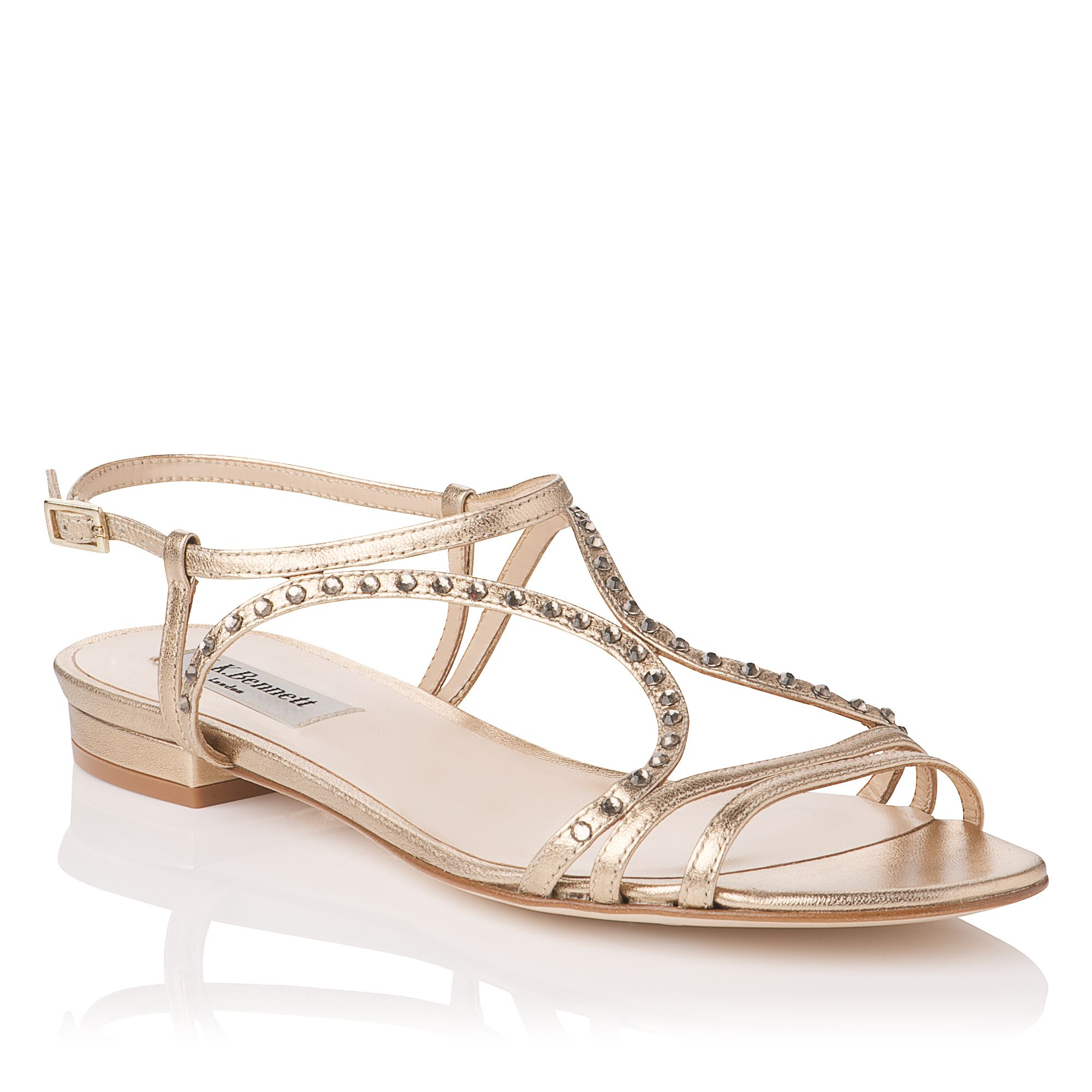 Lexi crystal detail sandals