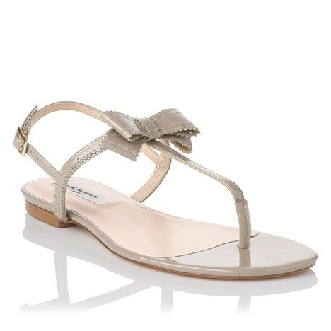 Bondi patent leather sandals