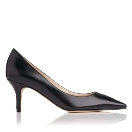 L.K. Bennett Florisa leather court shoes