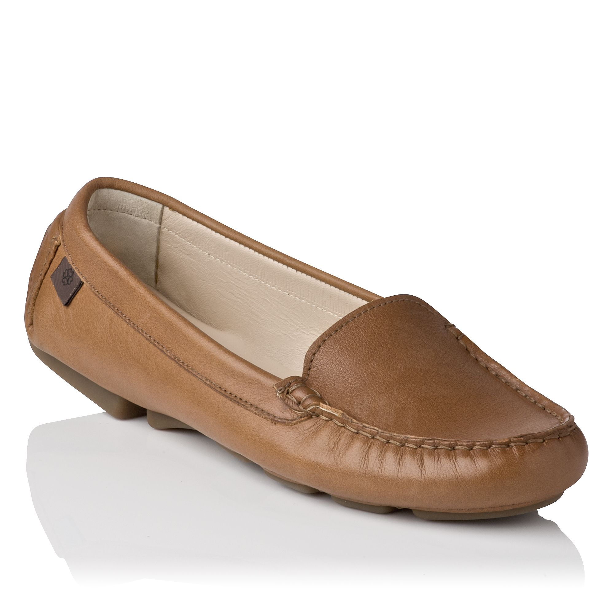 Gail plain driving shoes