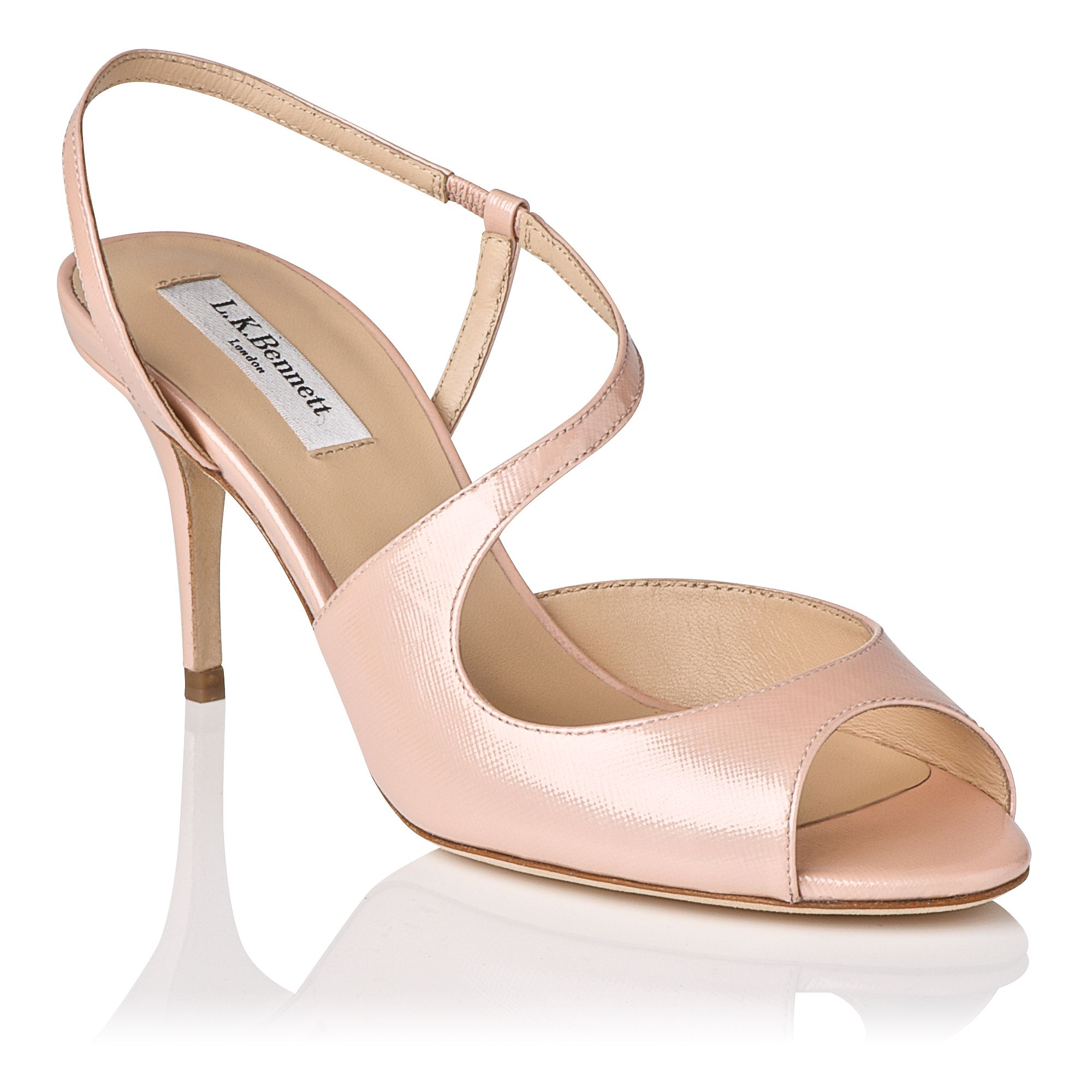Palmita leather stilletto sandals