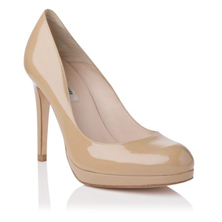 L.K. Bennett Sledge round toe platform shoes