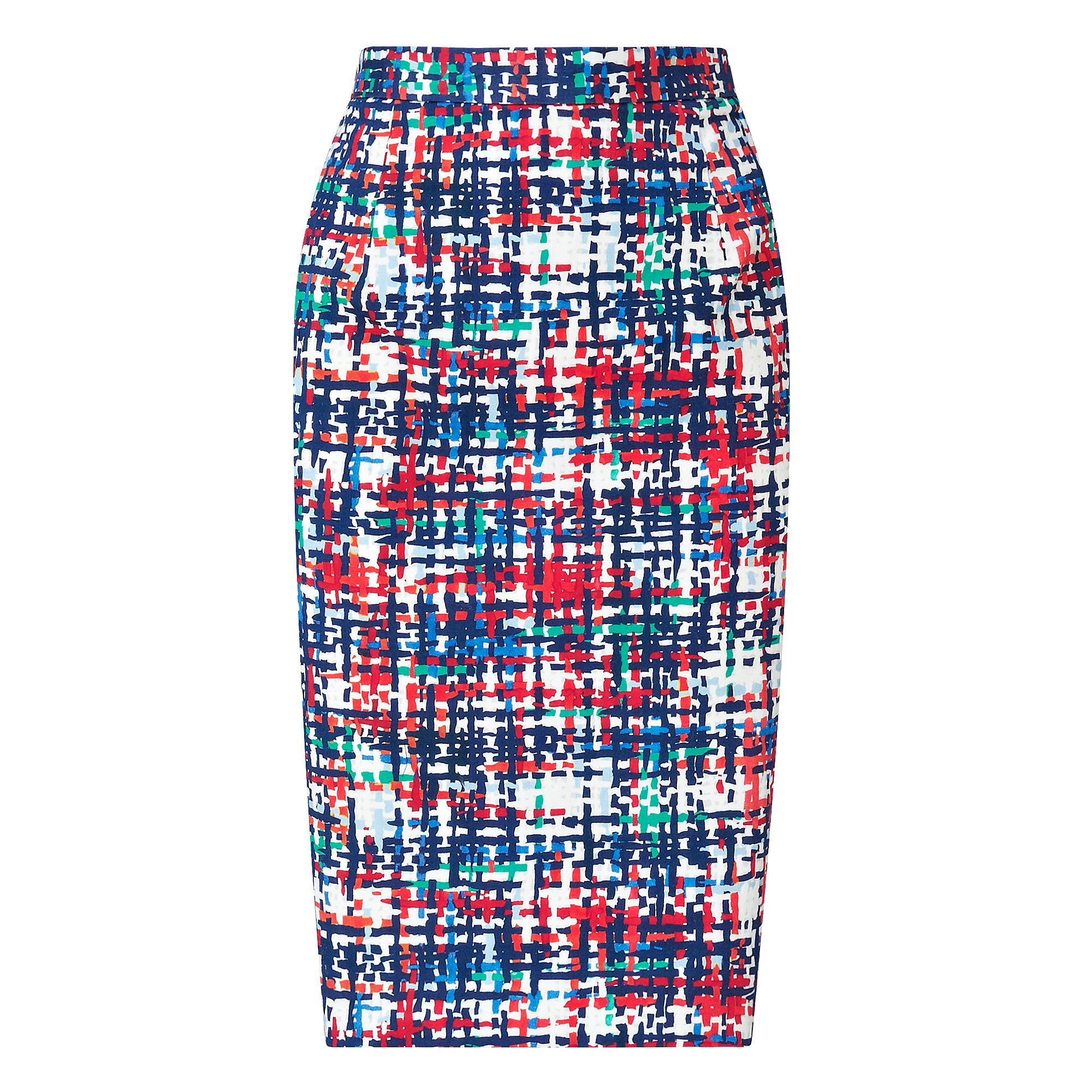 Largo Printed Pencil Skirt