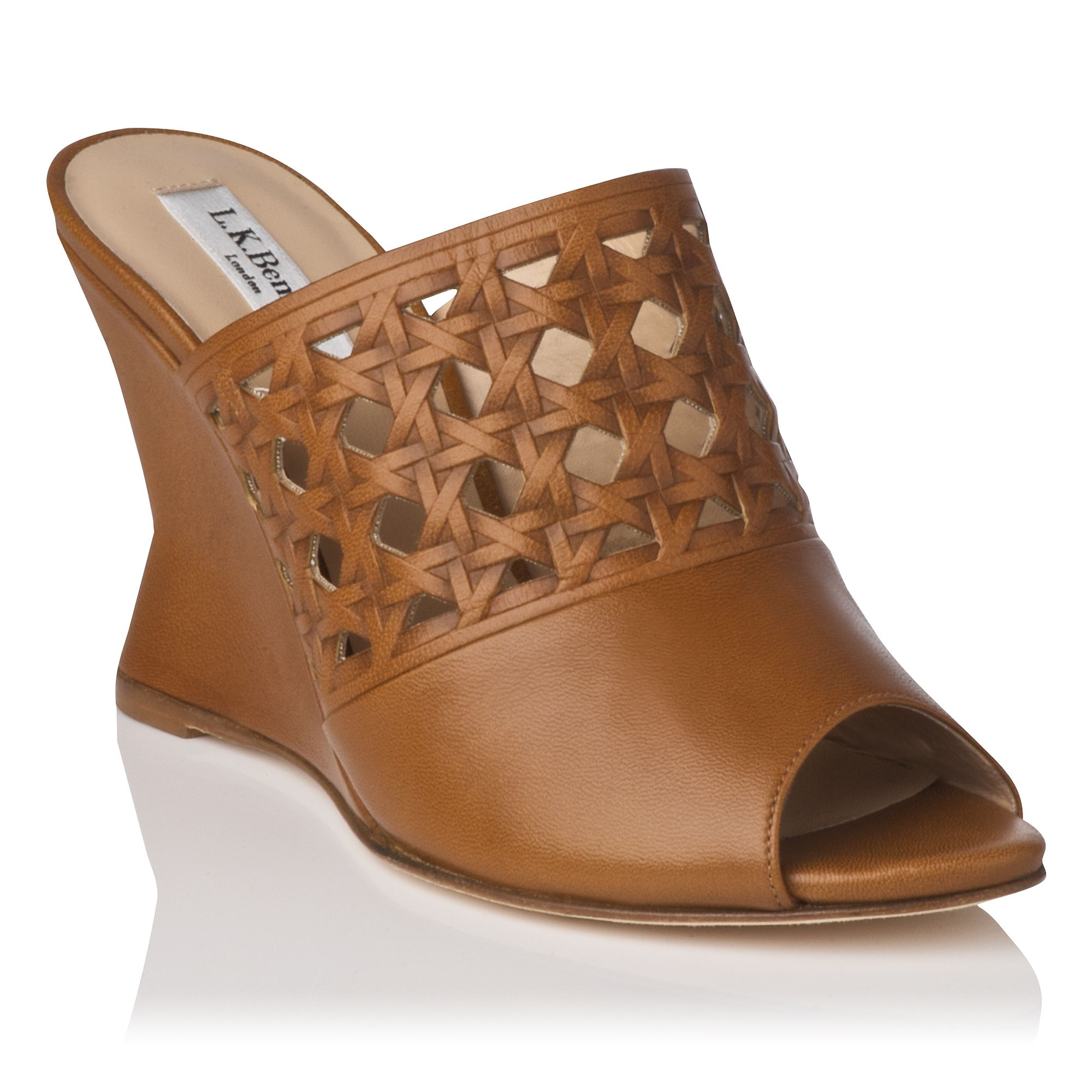 Diana single sole mule shoes