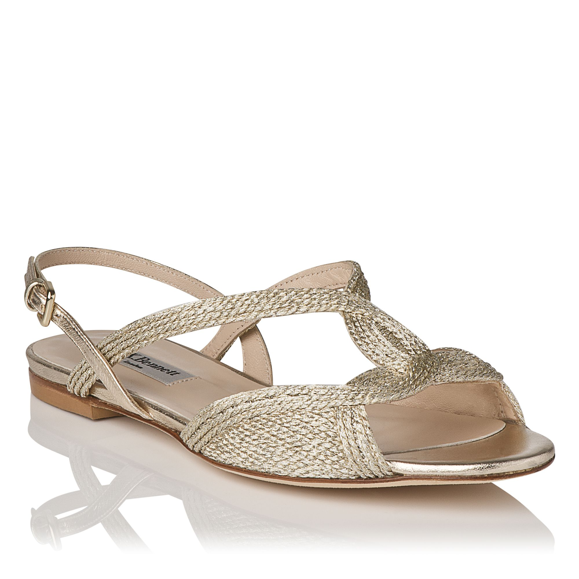 Sadie single sole flat sandals