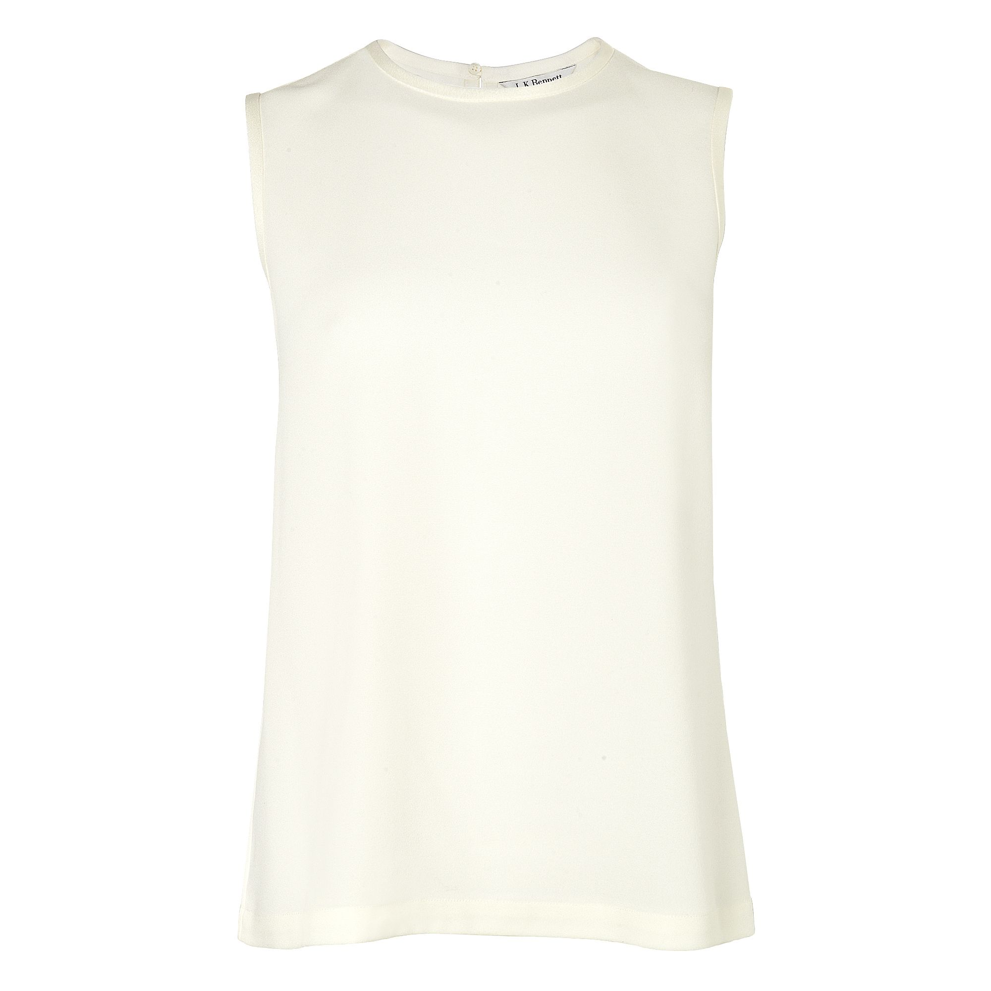 Amy silk tank top