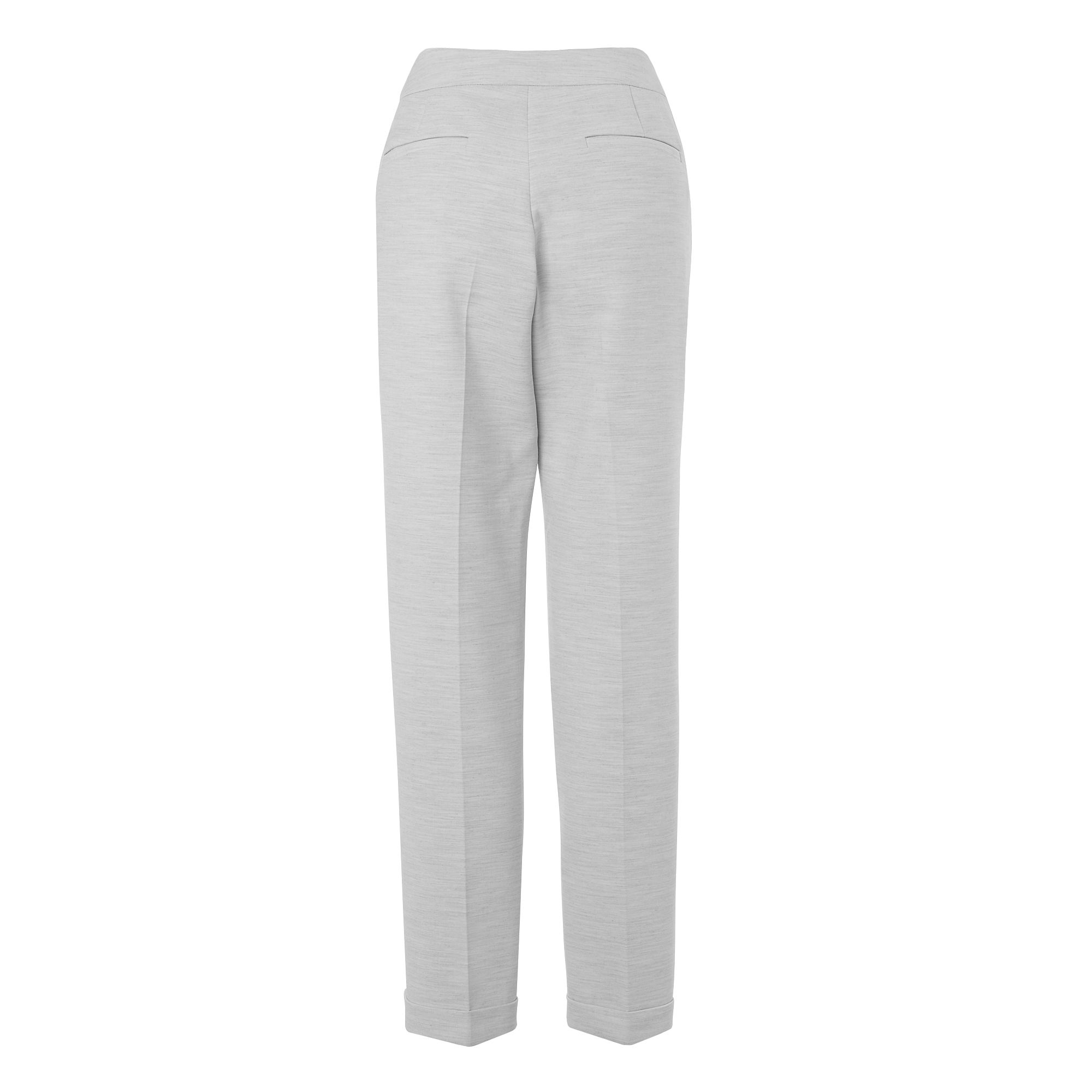 Handa tapered turn up trousers