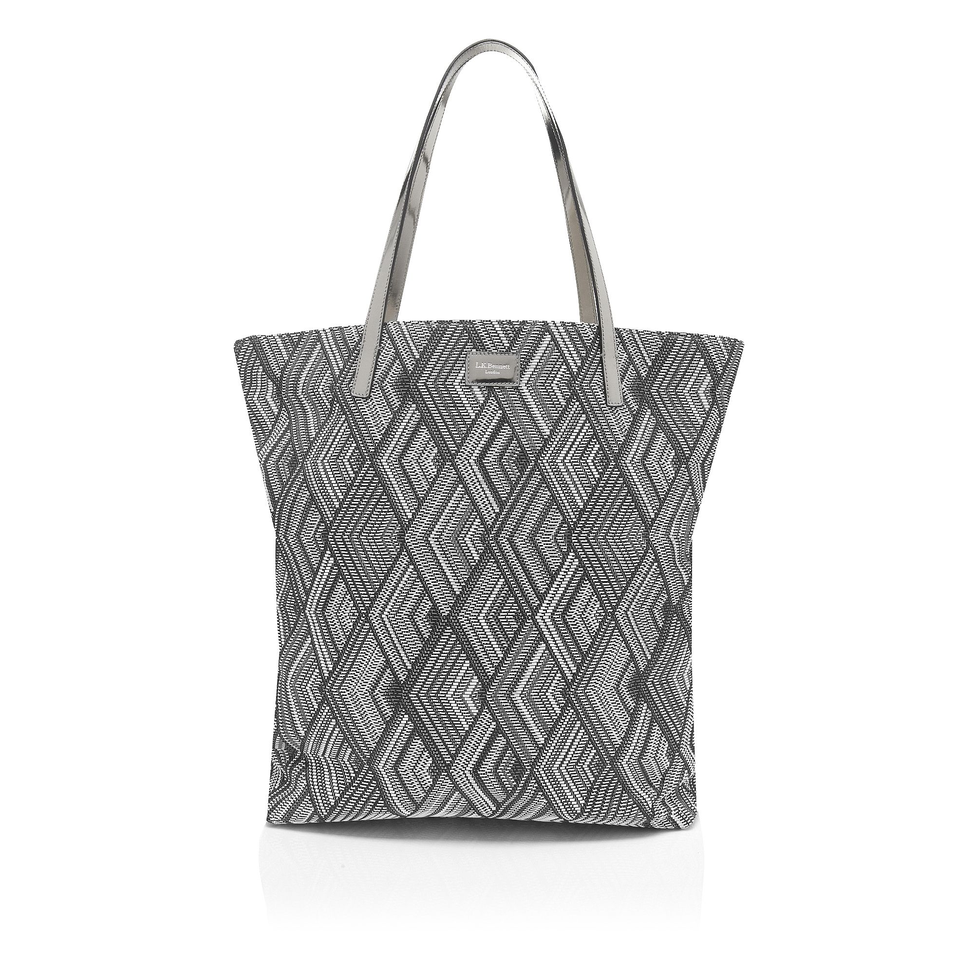 Nessa side zip tote bag
