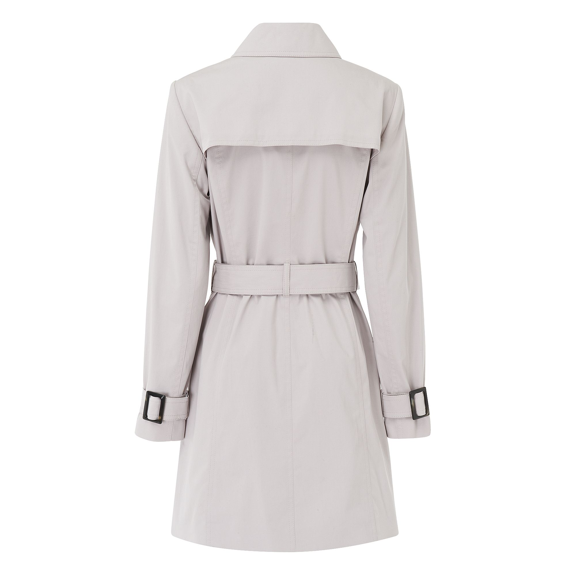 Boston Cotton Mix Button Trench Coat