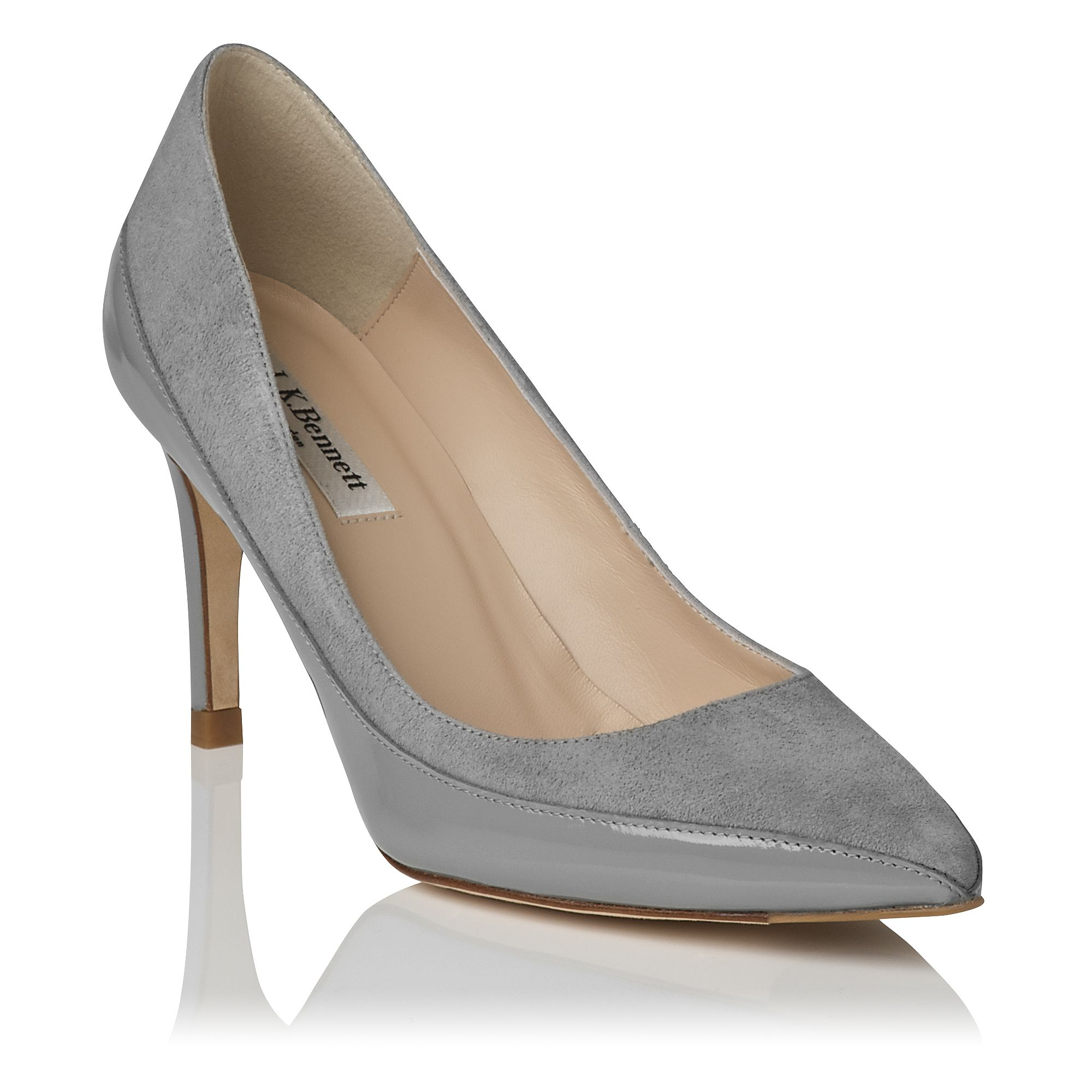 Aspen single sole pointed pumps
