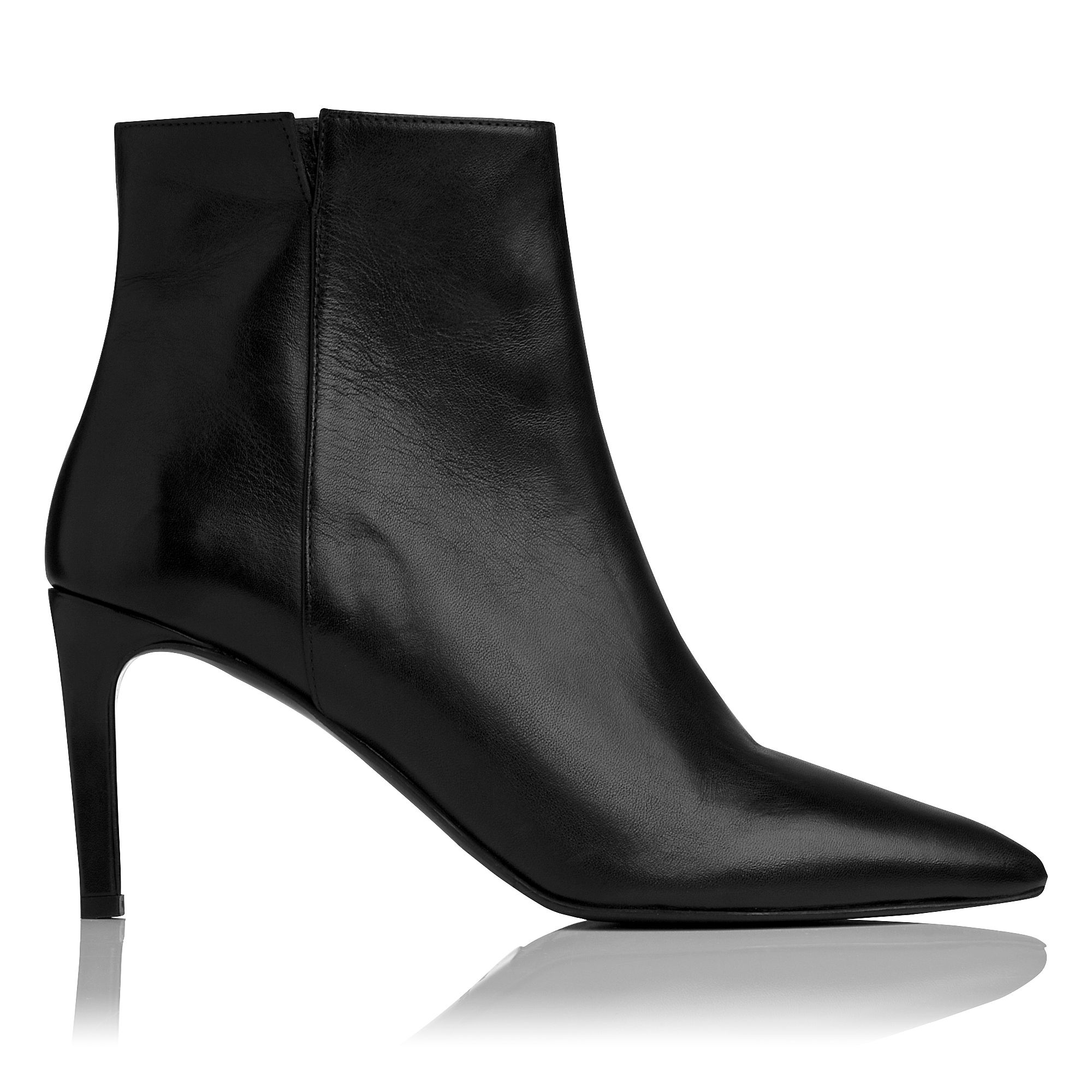 Rosa single sole pointed ankle boots