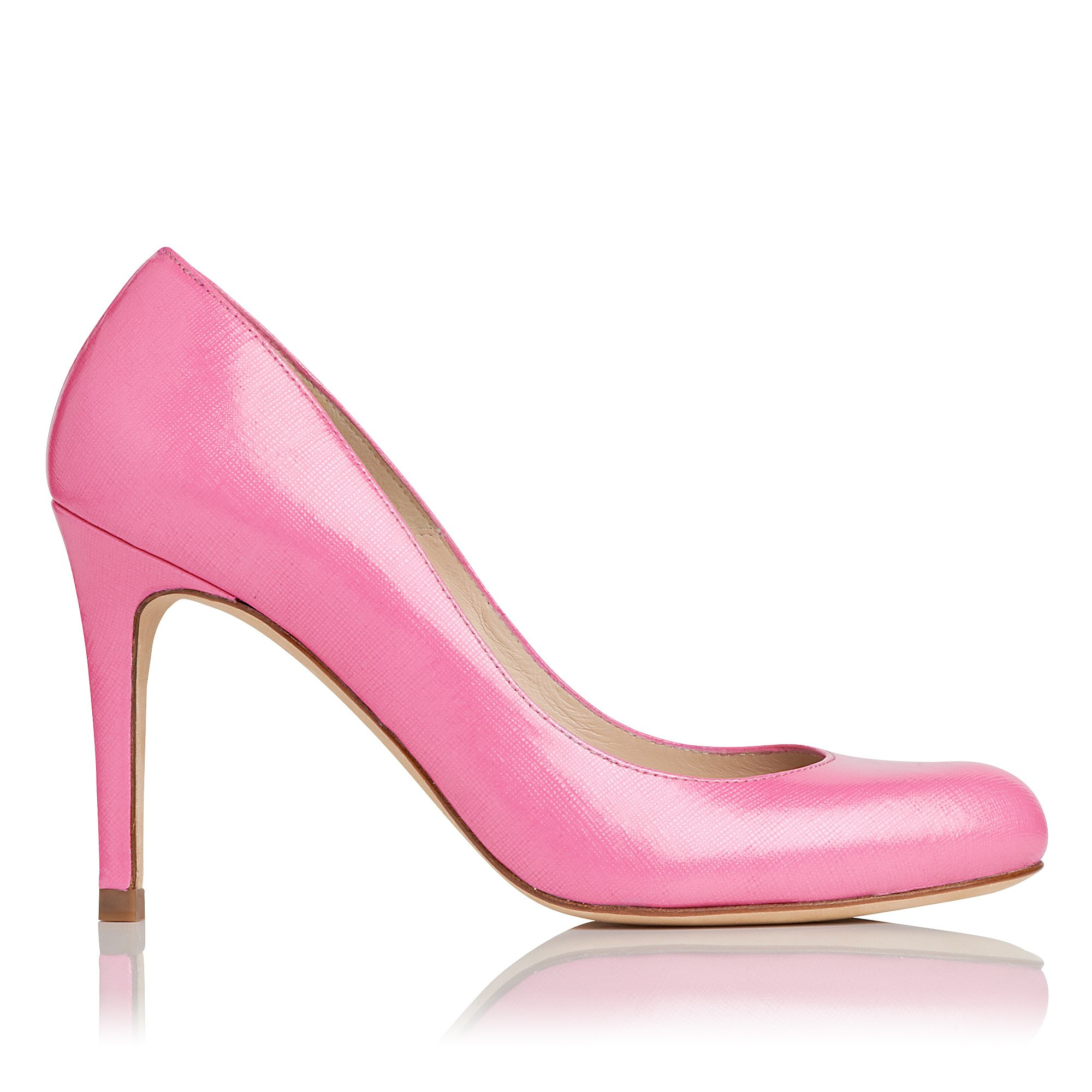 Stila saffiano leather court shoes