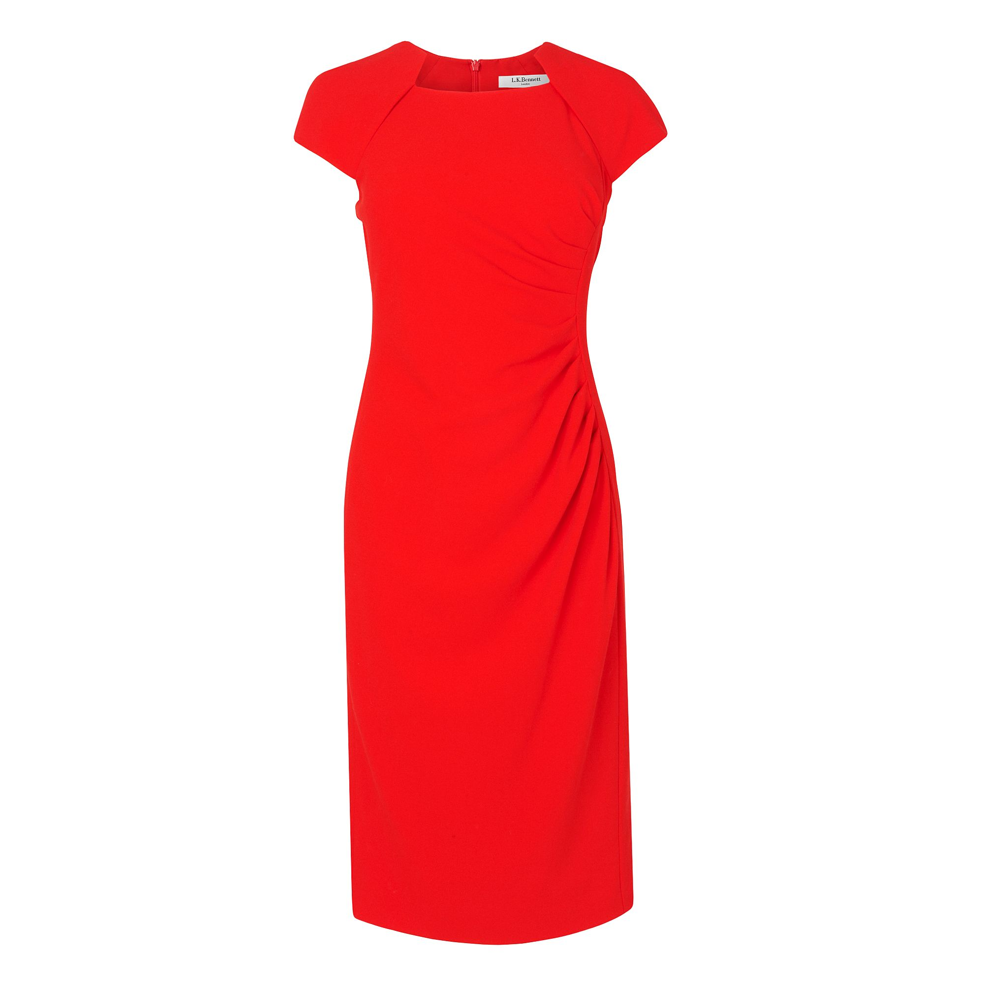 Marina Fitted Dress With Guaging Detail