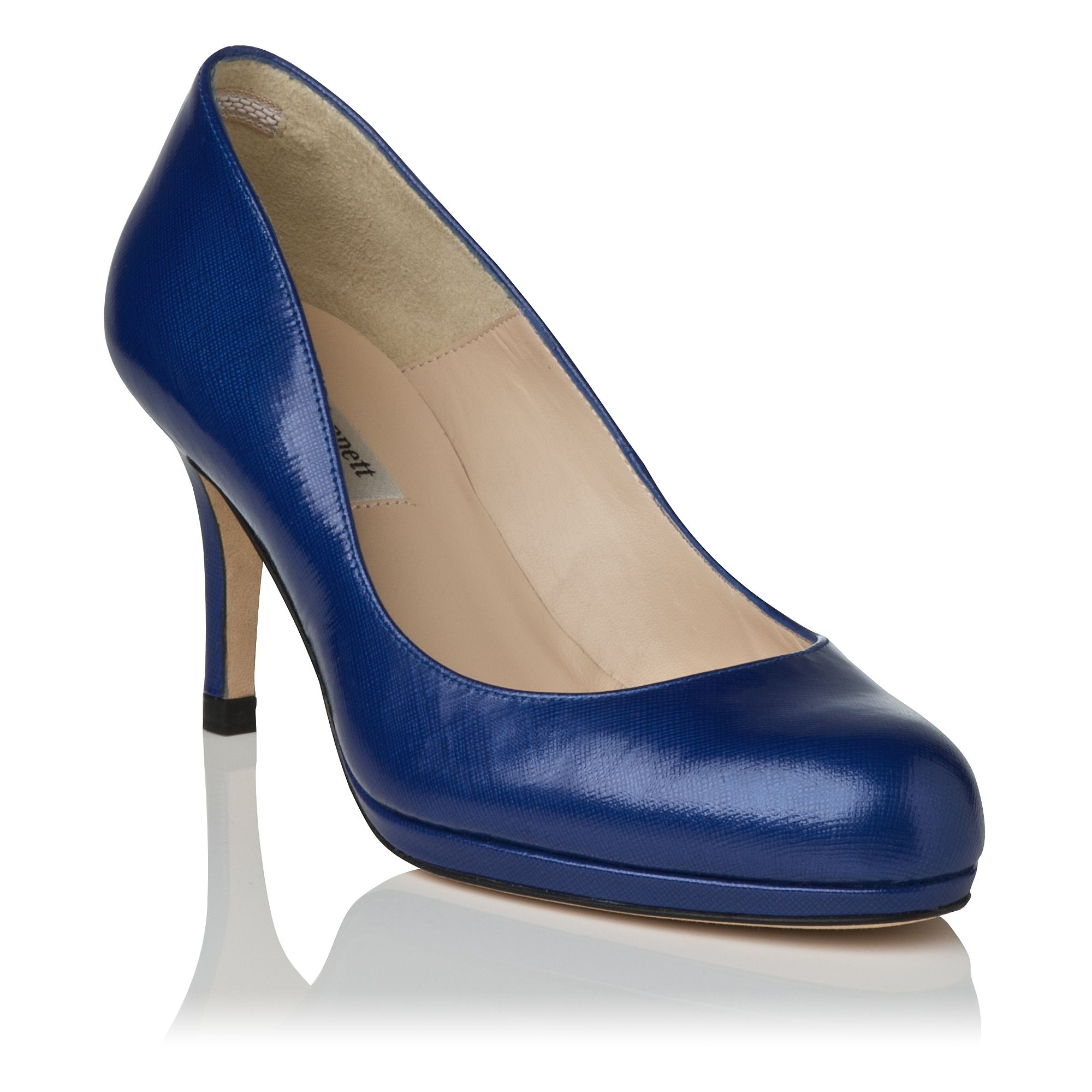 Sybila round toe platform court shoes
