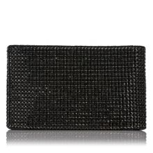 Liliana Crystal Mesh Clutch