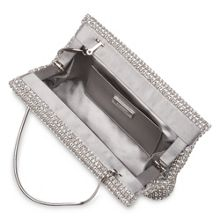 Ester Crystal Mesh Clutch