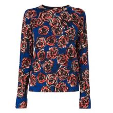 Joe Rose Print Crew Neck Jumper