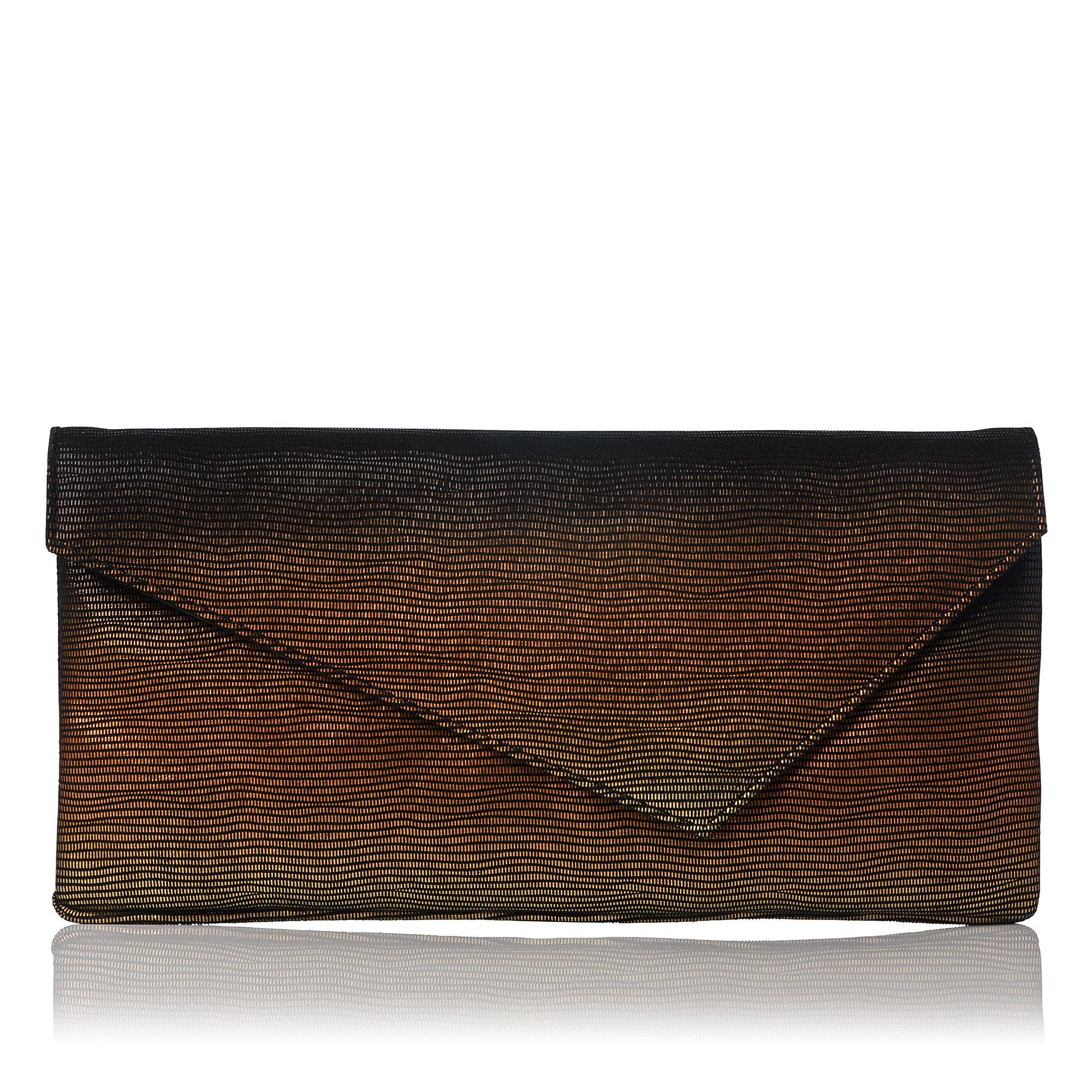 Leonie asymmetric clutch bag