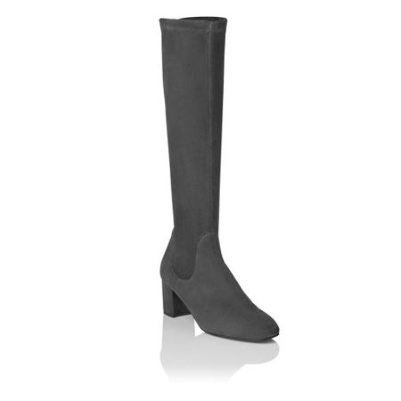 L.K. Bennett Keri Suede Knee High Boot