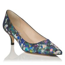 Minu aurora print pointed toe court shoes