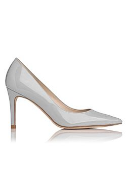 Florete Patent Leather Point Toe Court