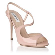 Palma metallic leather strappy sandal
