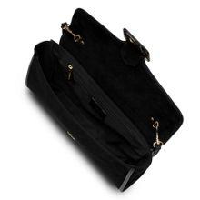 L.K. Bennett Bella buckle clutch