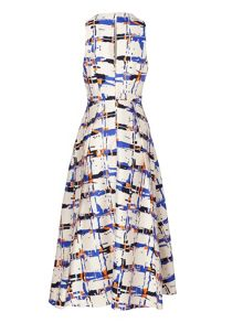 Coney Full Printed Dress