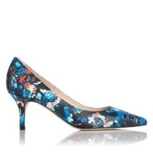 Florisa single sole point court shoe