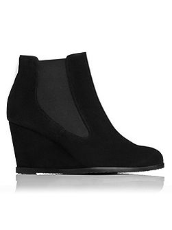 Paris suede ankle boots