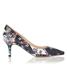 L.K. Bennett Florisa leather heels