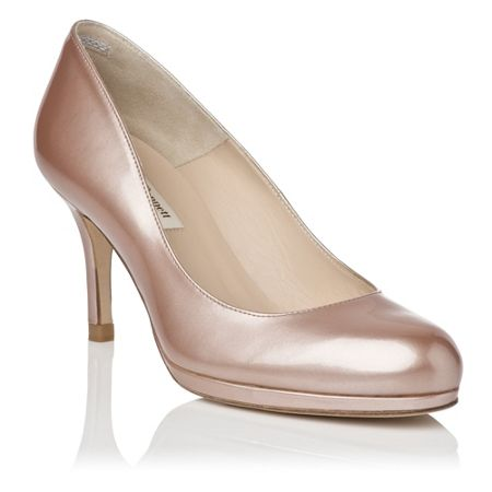 L.K. Bennett Sybila patent leather platform court