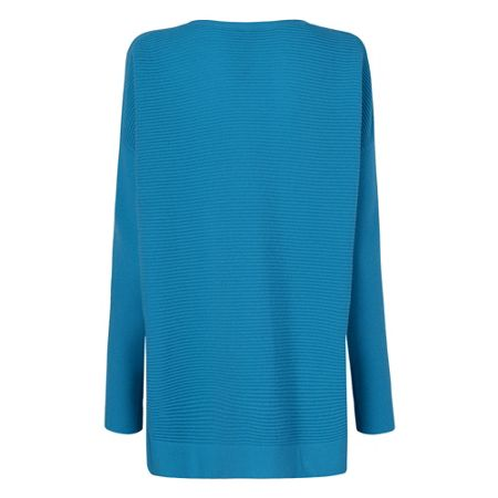L.K. Bennett Sar Blue Knit Jumper