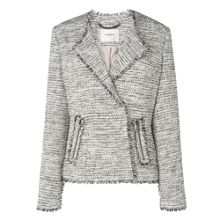 L.K. Bennett Lola Frayed Tweed Jacket