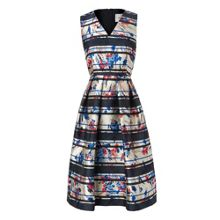 L.K. Bennett Liandra Printed Floral Dress