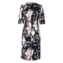 L.K. Bennett Crystal Printed Fitted Dress
