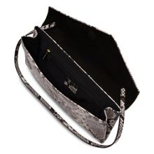 L.K. Bennett Leonie asymmetric clutch bag