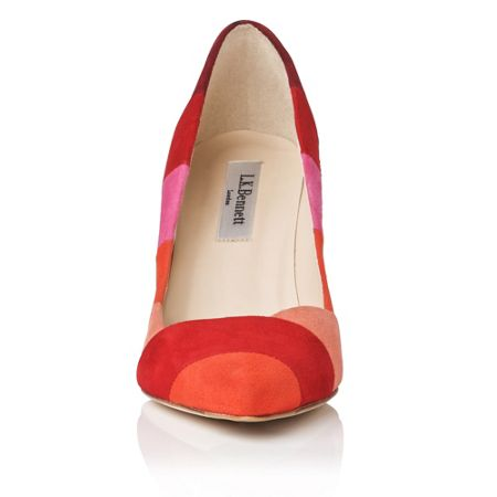 L.K. Bennett Avie closed court shoes